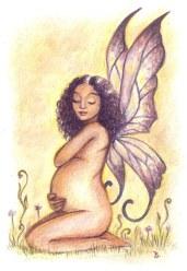 Pregnant Faery