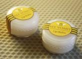 Homemade lip balm and label design
