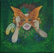 Acrylic on stretched canvas - Sold