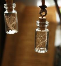 Actually snake bones in a little bottle