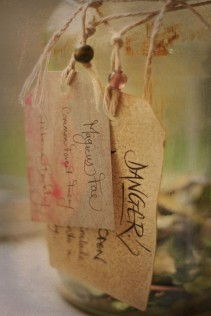 The jar has warnings attached because faery corpses can still hold magic thay may cause bizarre side effects if in contact with skin.