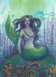 Purple Mermaid