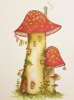 Toadstool mansion