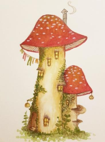 Toadstool mansion